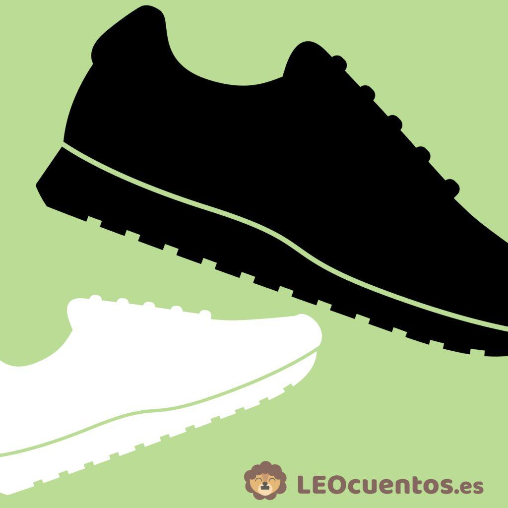 03. Carrera de zapatillas. LEOcuentos.es (José David Pérez)